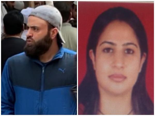 Jahanzaib Sami and his wife Hina Bashir Beigh