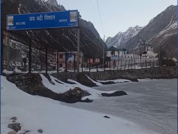 Visuals from Badrinath area.