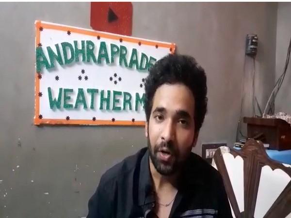 Andhra Pradesh Weather Man Sai Praneeth. (Photo/ANI)