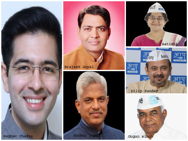 AAP has not yet decided the candidate for West Delhi seat..