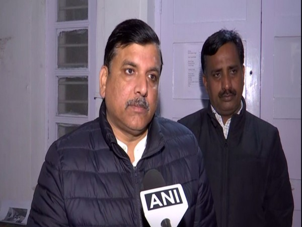 AAP leader Sanjay Singh (Photo/ ANI)
