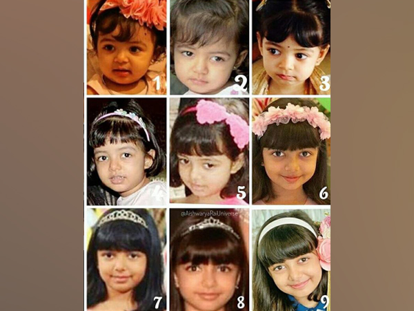 Collage of Aaradhya's pictures (Image Source: Instagram)