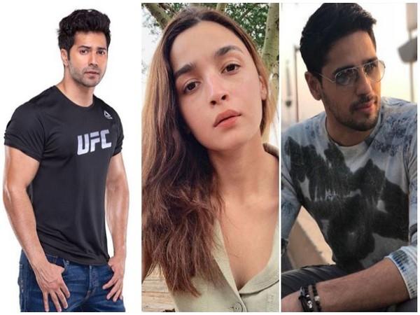 Varun Dhawan, Alia Bhatt and Sidharth Malhotra, Picture courtesy: Instagram