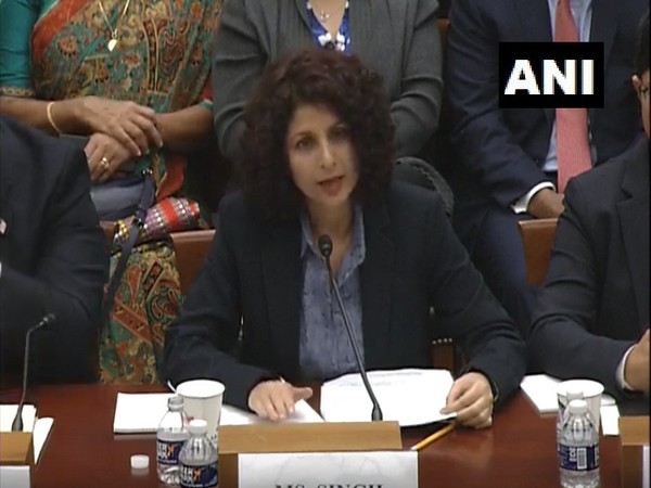 Aarti Tikoo Singh, senior Indian journalist from Kashmir at US House Foreign Affairs Committee hearing on Tuesday