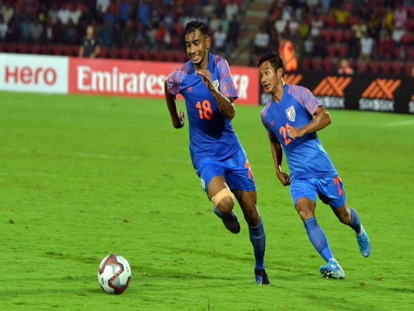Indian midfielder Ashique Kuruniyan (Photo/Indian Football Team Twitter)
