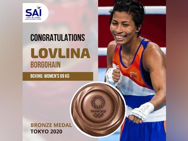 Lovlina Borgohain (Photo: SAI Media's Twitter)