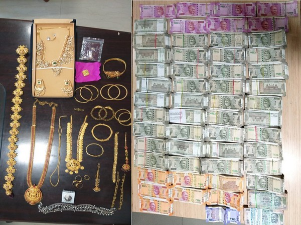 The seized items from the bank locker. (Photo/ANI)