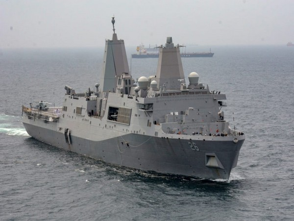 USS John P Murtha on a four-day visit to Visakhapatnam