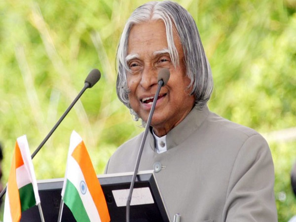 Former President and the 'Missile Man of India' Dr APJ Abdul Kalam. (File photo)