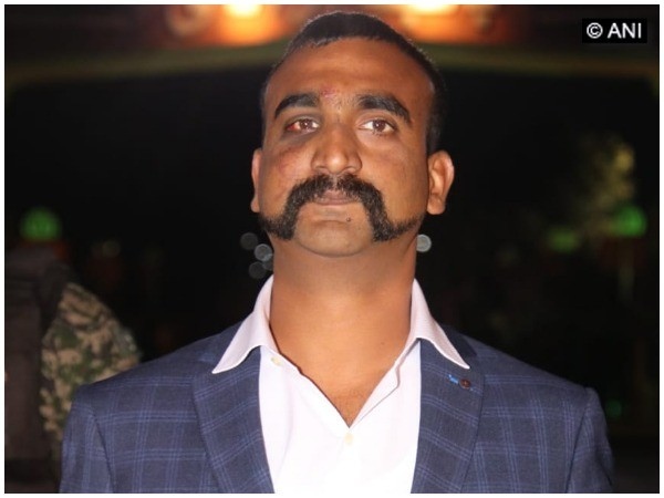 IAF Wing Commander Abhinandan Varthaman (file photo)