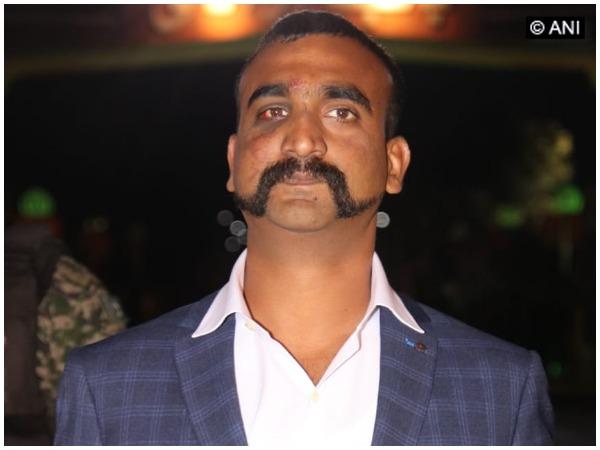 Wing Commander Abhinandan Varthaman (file pic)