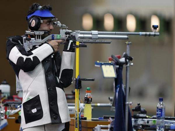 Rifle shooter Abhinav Bindra (file image)