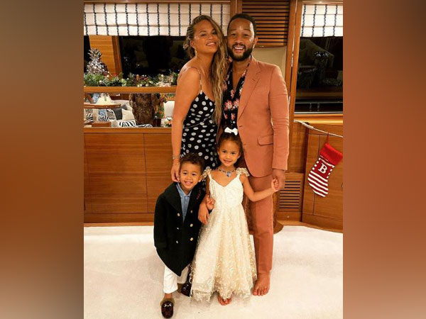 Chrissy Teigen and family (Image courtesy: Instagram)