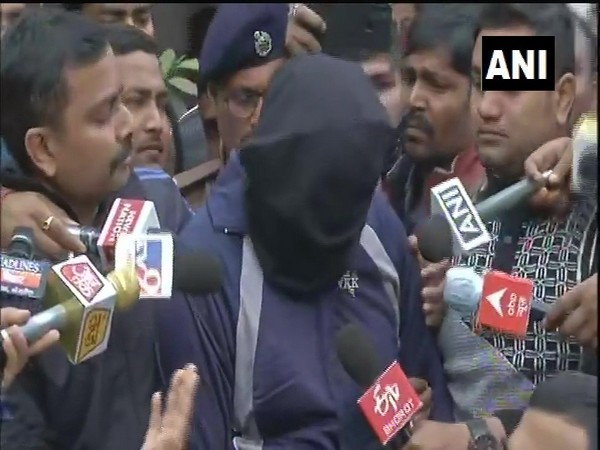 Rituraj, accused arrested by Bihar police in connection with the Indigo manager Rupesh murder case. (Photo/ANI)
