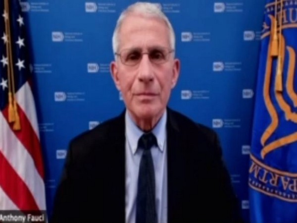 US top infectious diseases expert Dr Anthony Fauci speaking to ANI on Thursday (local time)