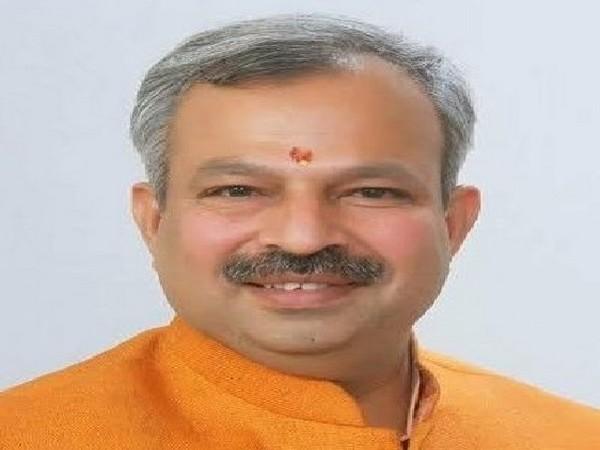 Delhi BJP President Adesh Kumar Gupta. (Twitter Image)