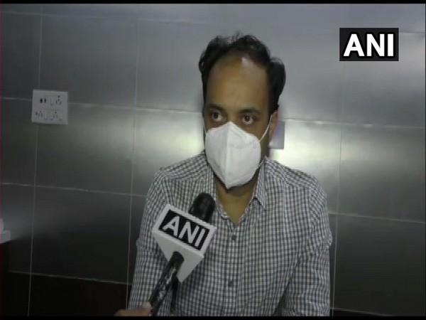 Dr Dhaval Patel, Surat Collector in conversation with ANI. (Photo/ANI)