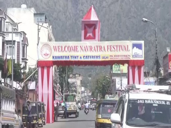 Visual from Jammu and Kashmir's Katra ahead of Navratras