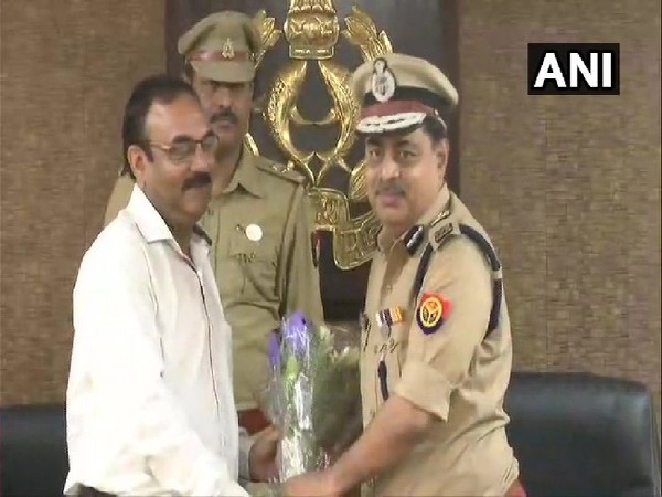 Uttar Pradesh ADG (Law and Order) PV Rama Shastri in Lucknow on June 17. Photo/ANI