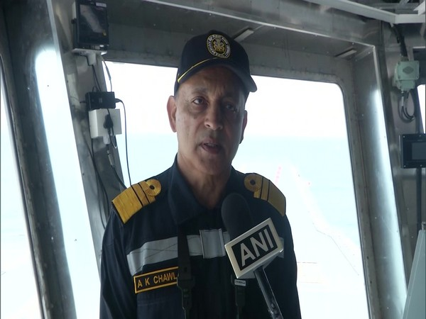 Vice Admiral AK Chawla, Flag Officer Commanding-in-Chief Southern Naval Command (Photo/ANI)