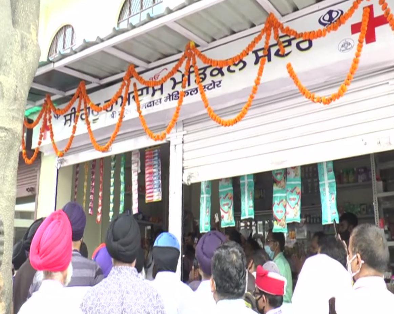 Ramdas medical store at Ratanlal Nagar Gurudwara in UP's Kanpur. (Photo/dafabet mobile)
