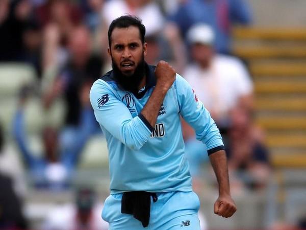 England spinner Adil Rashid