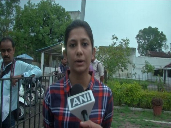 Superintendent of district jail Indore, Aditi Chaturvedi speaking to ANI on Saturday.