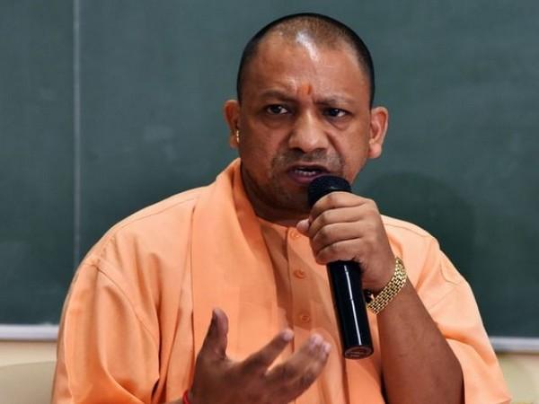 Uttar Pradesh Chief Minister Yogi Adityanath. [Photo/ANI]