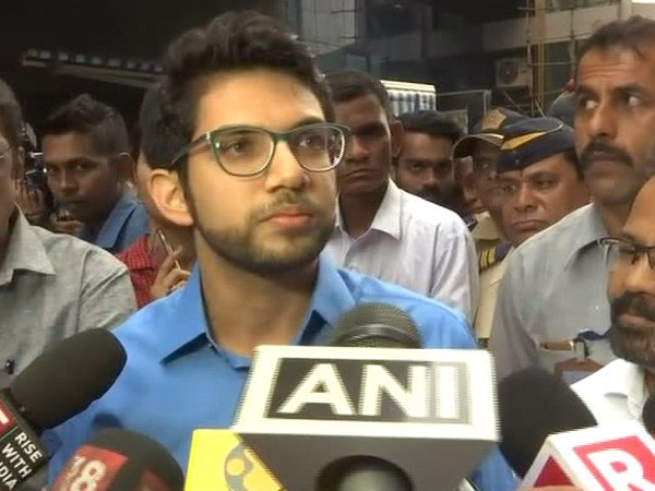 Shiv Sena leader Aaditya Thackeray (File photo)