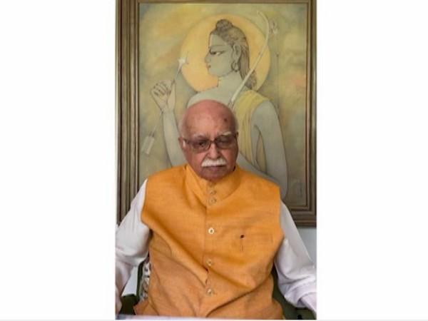 Senior BJP leader LK Advani (File Photo/ANI)