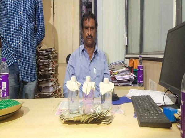 The accused officer Gajawada Manohar.