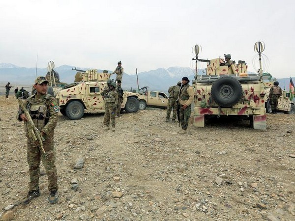 Afghan security forces after an operation (file photo)