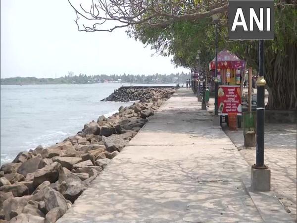 Visual from Fort Kochi Beach in Kerala