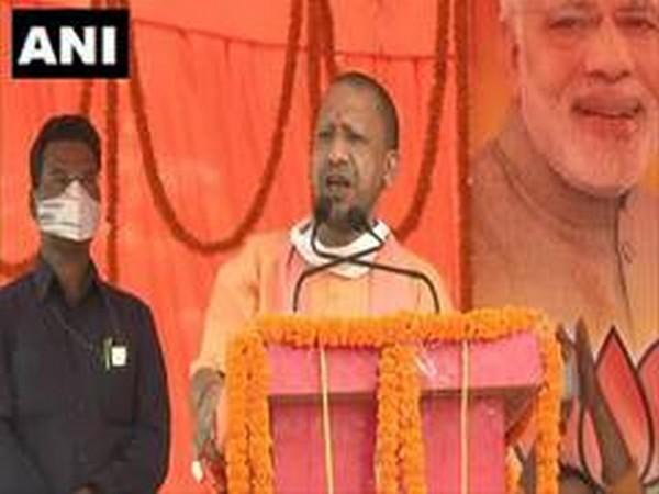 Uttar Pradesh Chief Minister Yogi Adityanath (File Photo/ ANI)