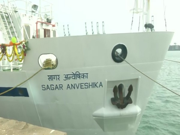 Union Minister Dr Harsh Vardhan on Saturday dedicated the new coastal research vehicle 'Sagar Anveshika' to the nation at Chennai port.