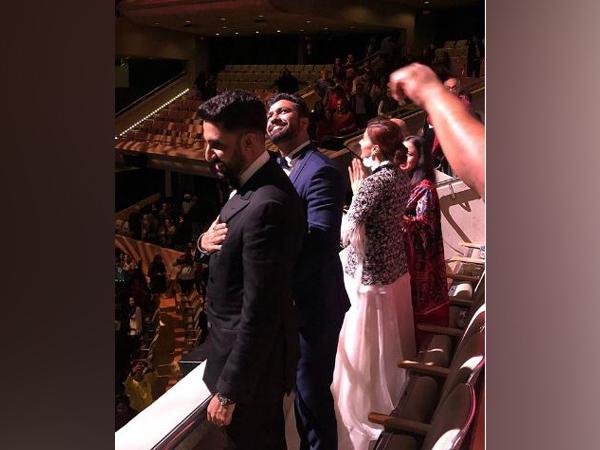 Taapsee Pannu, Vicky Kaushal, Abhishek Bachchan (Image courtesy: Instagram)