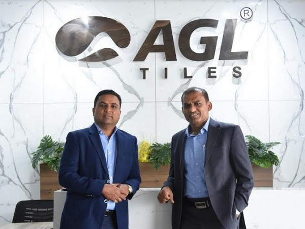 Kamlesh Patel, CMD and Mukesh Patel, MD, Asian Granito India Ltd.