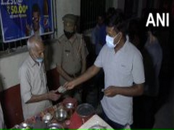 The 90-year-old stall owner in Agra.
