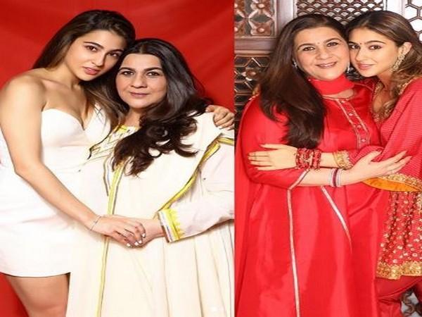 Sara Ali Khan with mother Amrita Singh (Image courtesy: Instagram)