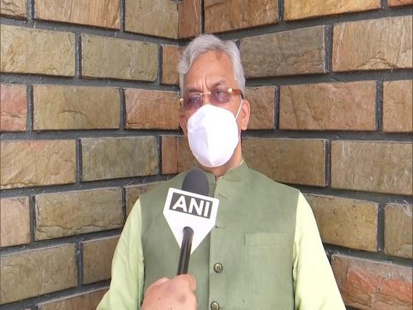 Trivendra Singh Rawat, former Uttarakhand CM. (Photos/ANI)