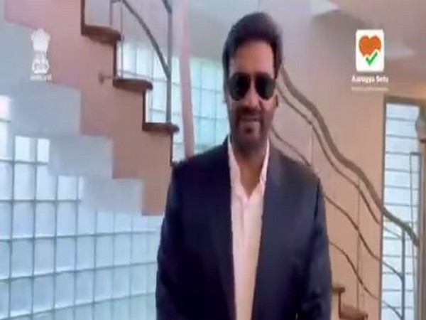 Actor Ajay Devgn (Image courtesy: Twitter)