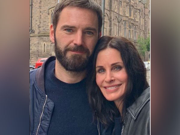 Johnn McDaid, Courteney Cox (Image courtesy: Instagram)