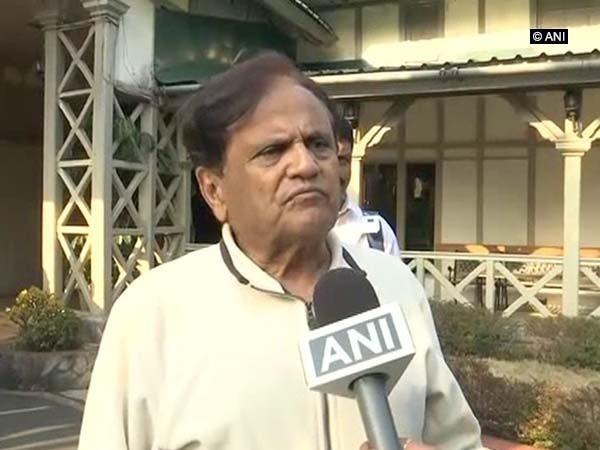 Senior Congress leader Ahmed Patel