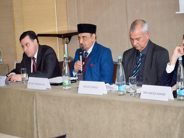 Ahmadiyya leaders at a sideline event of the ongoing 40th session of UN Human Rights Session in Geneva