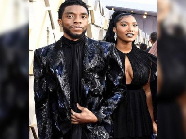 Chadwick Boseman and Taylor Simone Ledward (Image courtesy: Instagram)