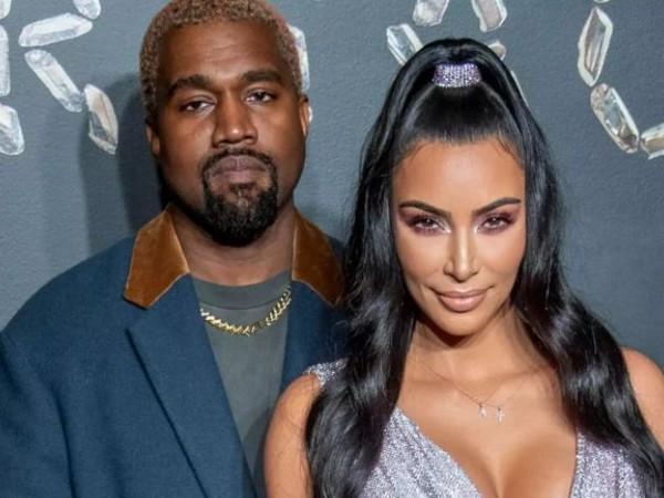 Kanye West and Kim Kardashian (Image source: Instagram)