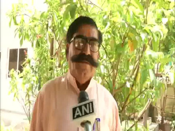 Rajasthan BJP Vice-President Gyandev Ahuja talking to ANI in Jaipur on Tuesday