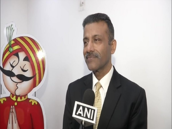 Air India's Director of Operations, Captain Amitabh Singh speaking to ANI in New Delhi on Thursday.