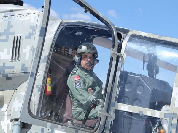 IAF Chief, RKS Bhadauria undertook a sortie in indigenous LCH in Bengaluru on November 20.