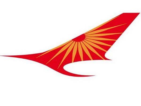 Air India's logo.